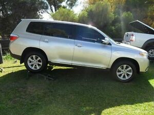 2011 Toyota Kluger GSU45R KX-R Silver Sports Automatic Wagon Mudgee Mudgee Area Preview