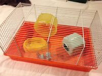 Hamster Cage + Accessories (still available 02/12)