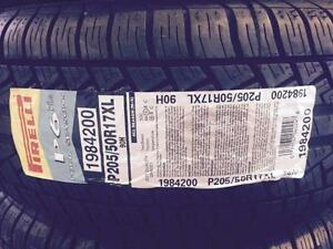 4 Brand New Pirelli P6 Plus Four Seasons PLUS in 205/50R17 tires *** WallToWallTires.com ***