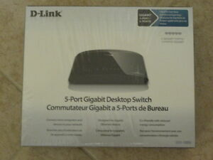 D-Link 5 port Gigabit  switch