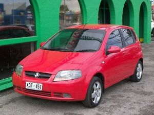 2007 Holden Barina TK MY07 Red 4 Speed Automatic Hatchback Nailsworth Prospect Area Preview