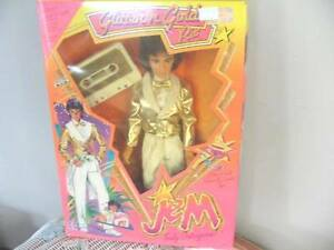 "12.5"" MR RIO JEM ROCKER DOLL GLITTER N GOLD ORIGINAL 1986  NIB!!"