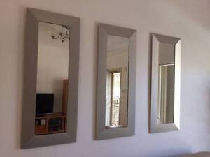 Mirrors x 3 and Matching Picture Frames Mortdale Hurstville Area Preview