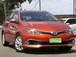 2015 Toyota Corolla ZRE182R Ascent Sport S-CVT Wildfire 7 Speed Constant Variable Hatchback Condell Park Bankstown Area Preview