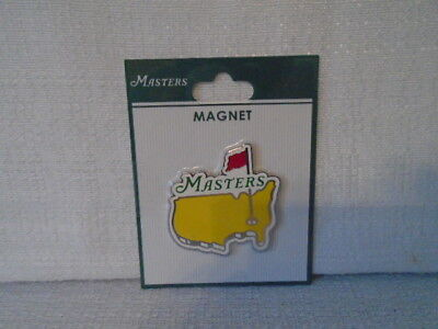 Augusta National Masters Logo Pin Flag Magnet