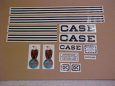 Case Dc Decal Set Complete And New