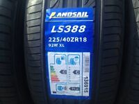 225 40 18 82w extra load tyres brand new C C rated