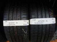 E68 2X 225/40/18 92W XL GOODYEAR EFFICIENT GRIP 1X7MM 1X7,5MM TREAD