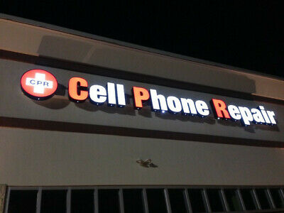 Cell Phone Repair - Channel Letter Sign