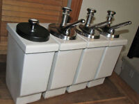 Ancien Distributeur a Syrop Diner Soda Fontain Dispenser