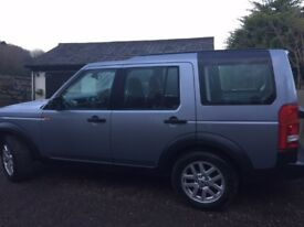 Immaculate Landrover Discovery 3 with low mileage for year