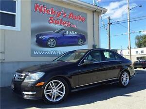 2013 Mercedes Benz C300 4MATIC, SUNROOF, FINANCE @ 3.99% RATE!