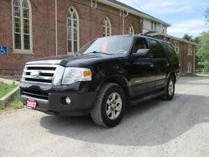 2007 Ford Expedition XLT-CERTIFIED+LEATHER ONLY $5991