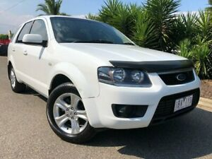 2010 Ford Territory SY MkII TX (RWD) White 4 Speed Auto Seq Sportshift Wagon Hoppers Crossing Wyndham Area Preview