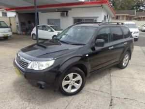 2008 Subaru Forester MY08 XT Black 5 Speed Manual Wagon Sylvania Sutherland Area Preview