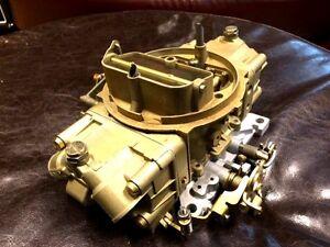 Holley #4777 650 cfm mechanical secondary carburetor