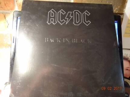 "AC/DC Back in Black 12"" Vinyl Mint"