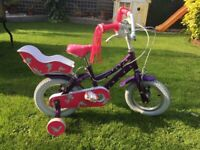 Raleigh Songbird Girls Bike With Stabilisers