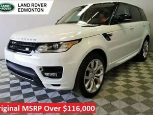 2016 Land Rover Range Rover Sport V8 Supercharged Dynamic Autobi