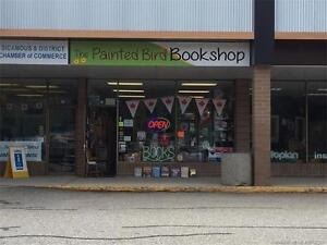 The Painted Bird Bookshop! Bookshop with collectibles shop!