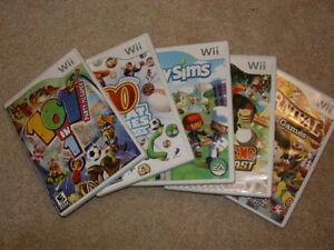 Wii games Regina Regina Area image 1