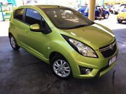 2012 Holden Barina Spark MJ MY13 CD Green 4 Speed Automatic Hatchback South Toowoomba Toowoomba City Preview