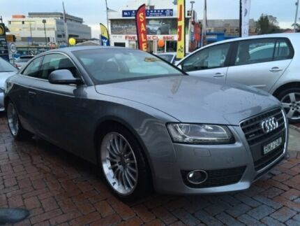 2009 Audi A5 8T MY09 Grey 7 SPORTS AUTOMATIC DUAL C Coupe Five Dock Canada Bay Area Preview