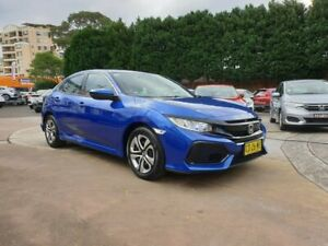 2017 Honda Civic 10th Gen MY17 VTi Blue 1 Speed Constant Variable Hatchback Hornsby Hornsby Area Preview