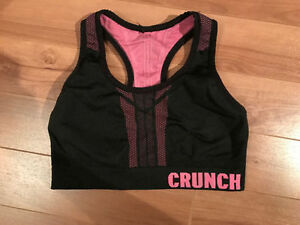 Reversible CRUNCH sports bra/ Soutien-gorge CRUNCH