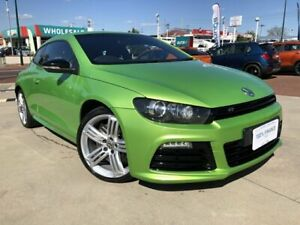 2012 Volkswagen Scirocco 1S MY13 R Green 6 Speed Manual Coupe Victoria Park Victoria Park Area Preview