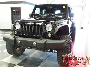 2014 Jeep Wrangler UNLIMITED RUBICON,NAVIGATION, 6IN LIFT CUSTOM