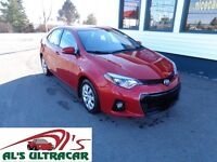 2014 Toyota Corolla S loaded for only $61 weekly all in!