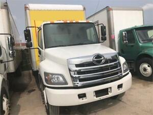 2016 Hino 338 26 Feet Box Auto Tailgate Air Brakes 73,000Kms