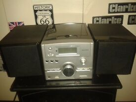 ALBA CD PLAYER WITH DOKING STATION