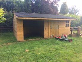Yard work for tractor driver / builder / carpenter