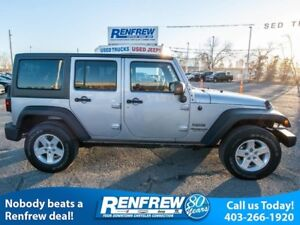 2014 Jeep Wrangler Unlimited 4WD Sport **Flash Sale** Air, Freed