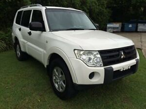 2006 Mitsubishi Pajero GXL White 5 Speed Automatic Wagon Warana Maroochydore Area Preview