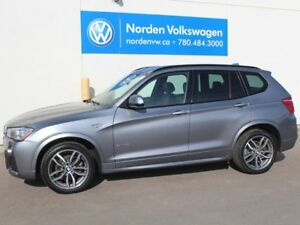 2015 BMW X3 LOADED X3 xDRIVE35i - NAV / HEATED LEATHER / PANOR