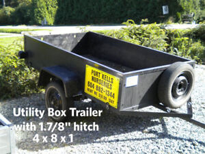 UTILITY TRAILERS FOR RENT