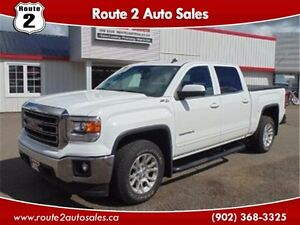 2014 GMC Sierra 1500 SLE Leather Crew 4x4