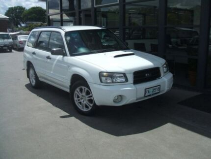 2004 Subaru Forester 79V MY04 XT AWD White 4 Speed Automatic Wagon Invermay Launceston Area Preview