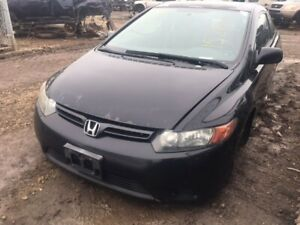 2008 Honda Civic Coupe just in for parts at Pic N Save!