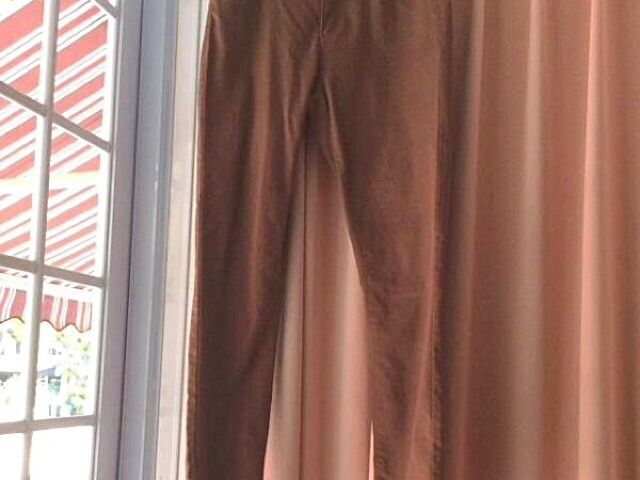New Brown Skinny Jeans Pants Jeggings From Paris