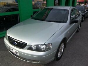 2002 Ford Falcon BA XT Ice Green 4 Speed Sports Automatic Sedan Nailsworth Prospect Area Preview