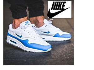 NEW Nike Air Max 1 Premium SC Jewel White University Blue SZ 12