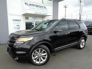 2014 Ford Explorer Limited 4WD, Nav, Tech Package, Self Park