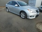 2012 Holden Cruze JH MY12 SRi V Silver 6 Speed Manual Sedan Werribee Wyndham Area Preview