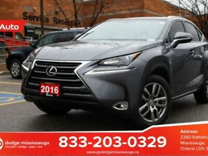 2016 Lexus NX 200t BACKUP CAMERA+SUNROOF+HEATED FRONT SEATS+VENT
