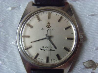 BAOSHIHUA 19 Jewels used Manual Watch Vintage