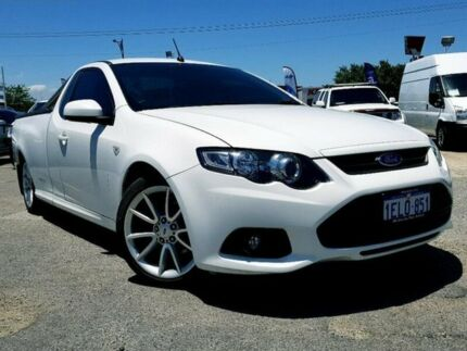 2014 Ford Falcon FG MkII XR6 Ute Super Cab White 6 Speed Sports Automatic Utility